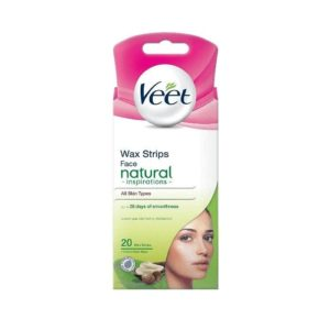 VEET FACE PRECISION WAX SSTRIPS NORMAL SKIN (20's)