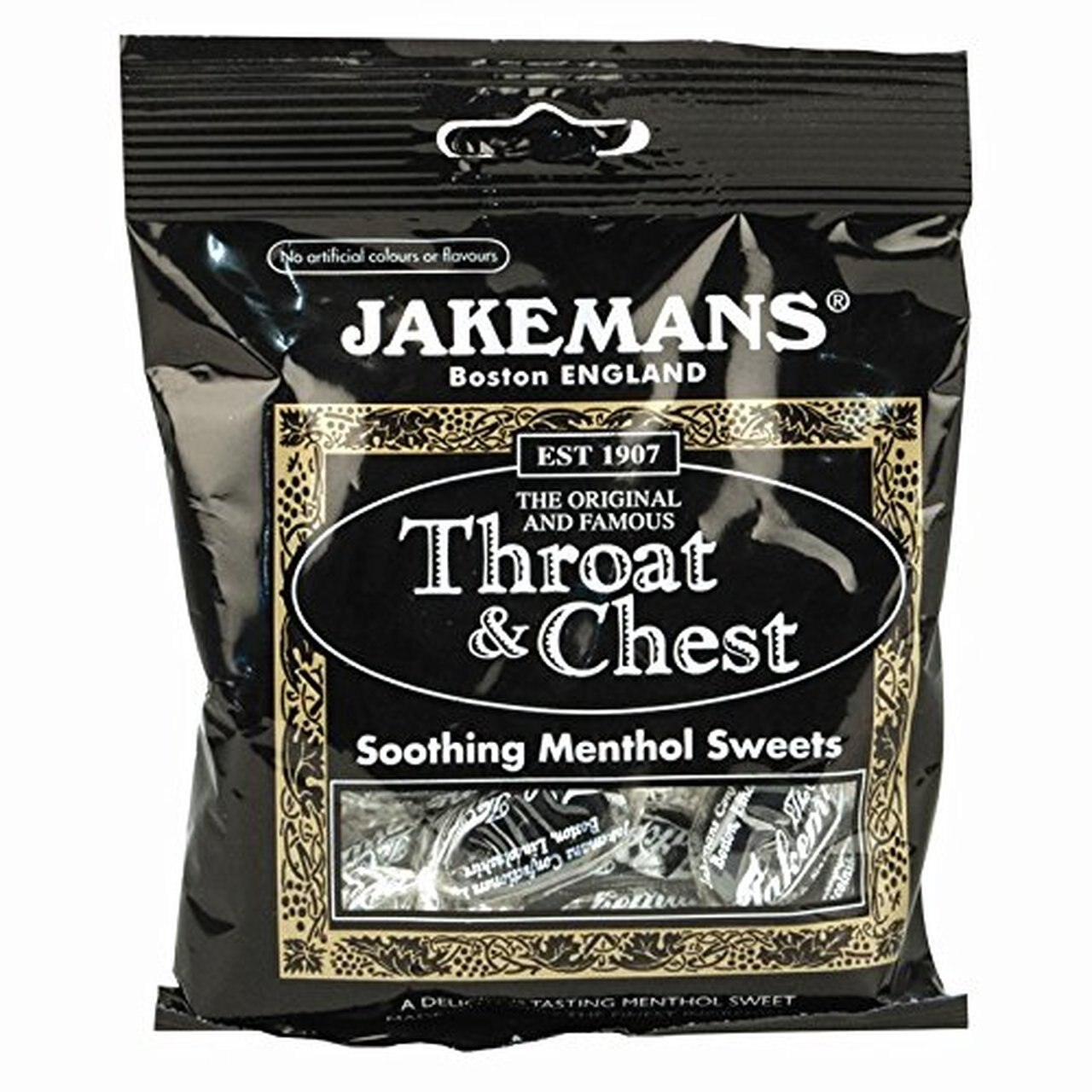 JAKEMANS THROAT AND CHEST 100G