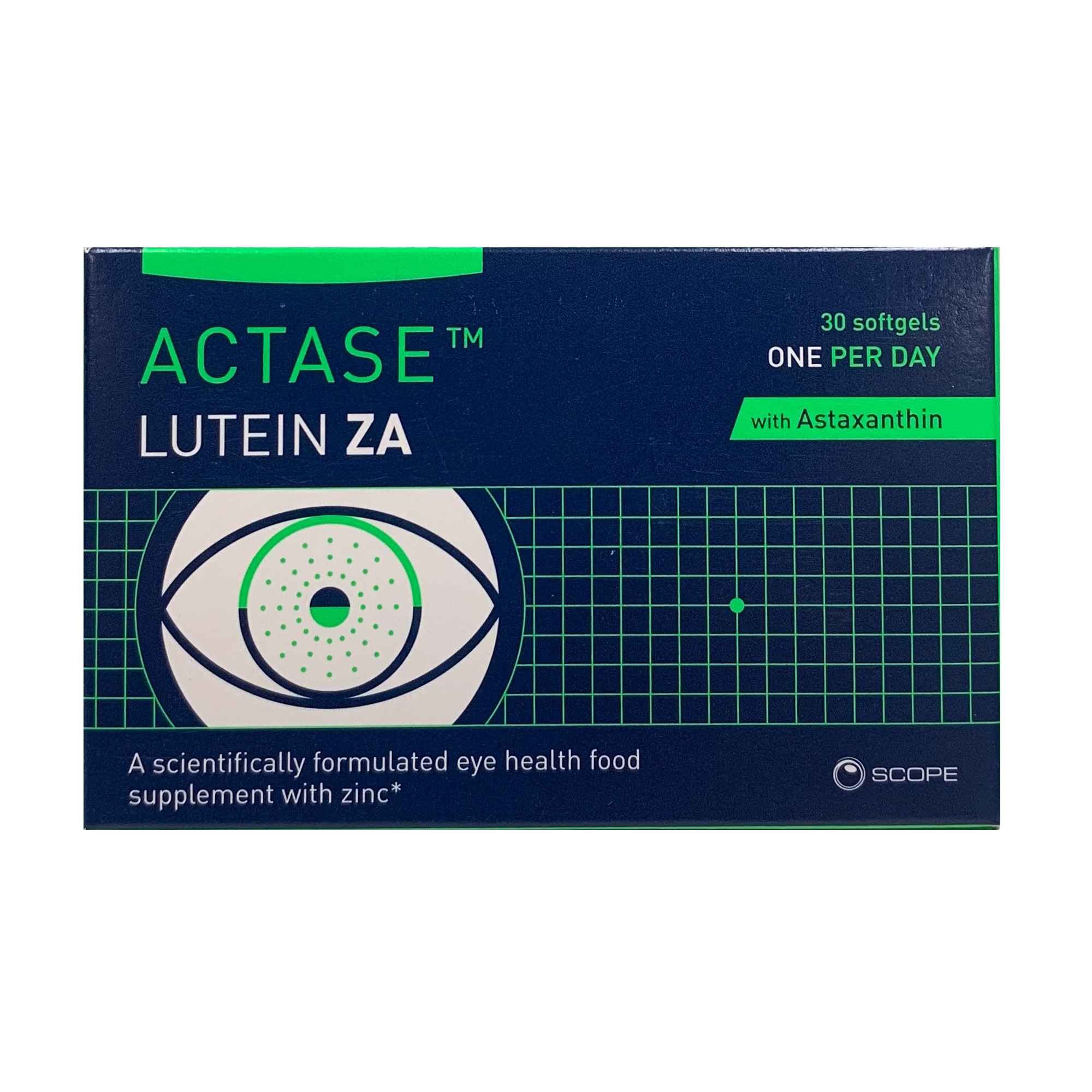 ACTASE LUTEIN ZA SOFTGELS 30 PACK (30's)