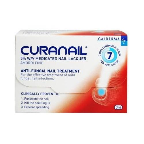 CURANAIL 5 MEDICATED NAIL LACQUER 2.5ML