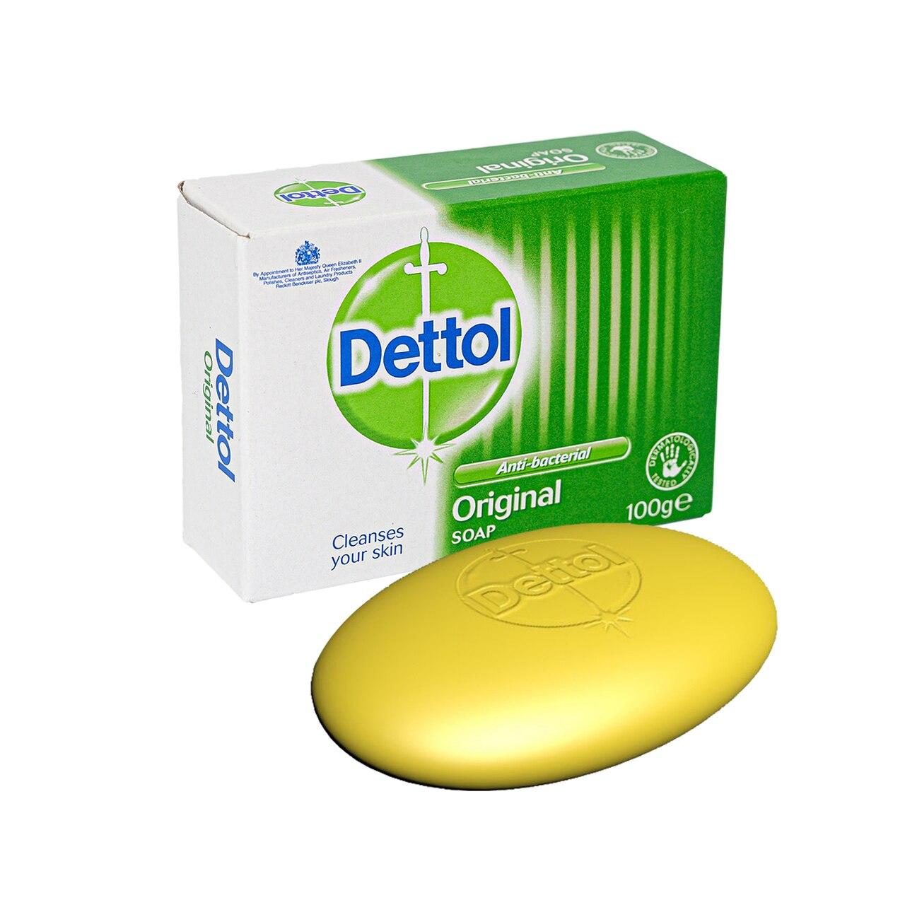 DETTOL ANTI-BACTERIAL ORIGINAL SOAP TWIN PACK
