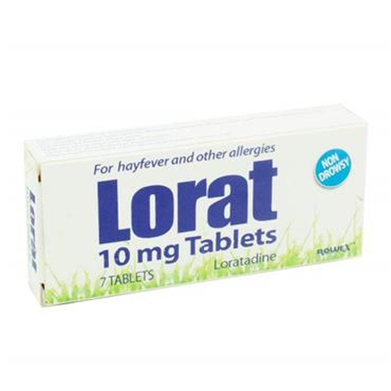 LORAT 10MG TABS LORATADINE (7's)