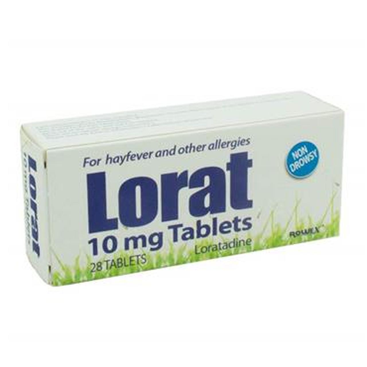 LORAT 10MG TABS LORATADINE (28'S)