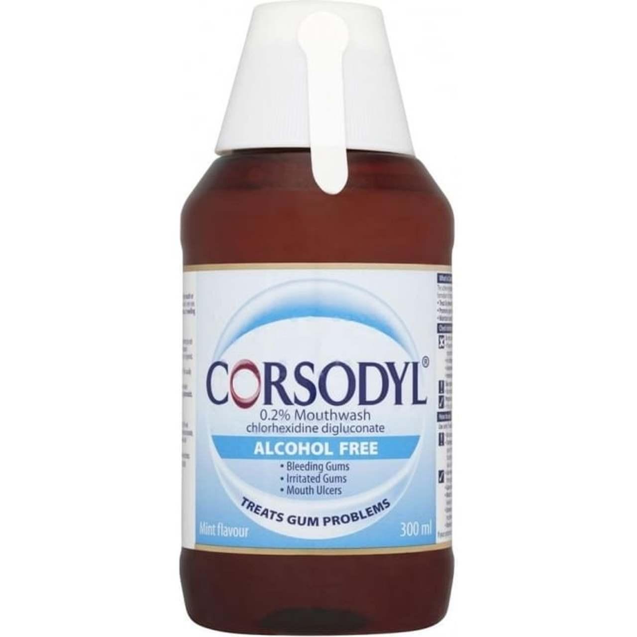 CORSODYL 0.2% MINT MOUTHWASH 300ML