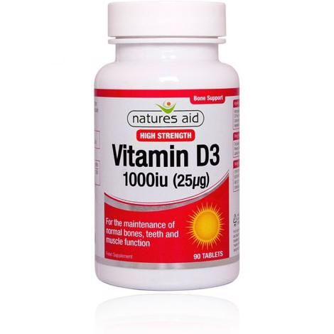 NATURES AID VITAMIN C 1000MG EFFERVESCENT ORANGE (20's)