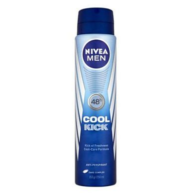 NIVEA MEN COOL KICK DEODORANT 2 FOR €4