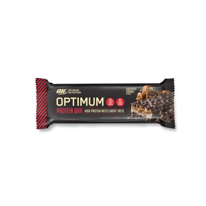 OPTIMUM PROTEIN BAR CHOCOLATE CARAMEL