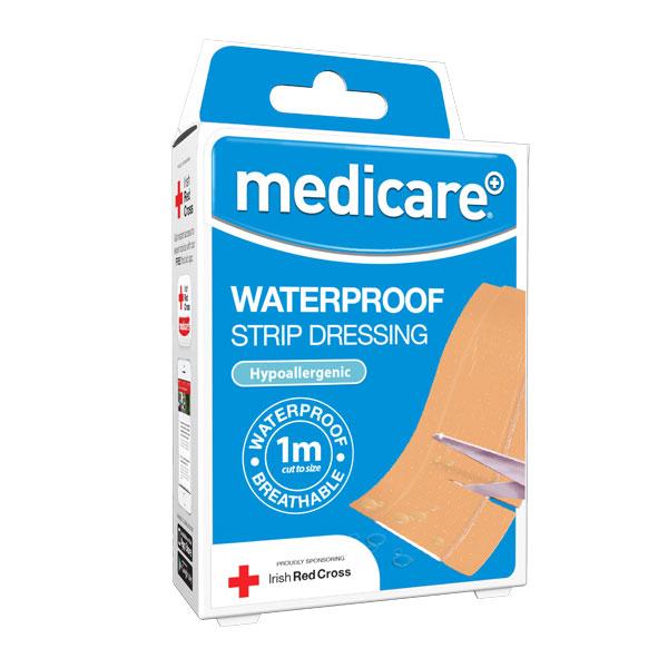 MEDICARE WATERPROOF STRIP PLASTER (10's)